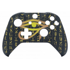 XBOX ONE S Controller Front Faceplate Art Series Soft Touch Pharaoh