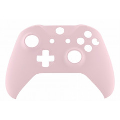 XBOX ONE S Controller Front FacePlate Soft Touch Sakura Pink