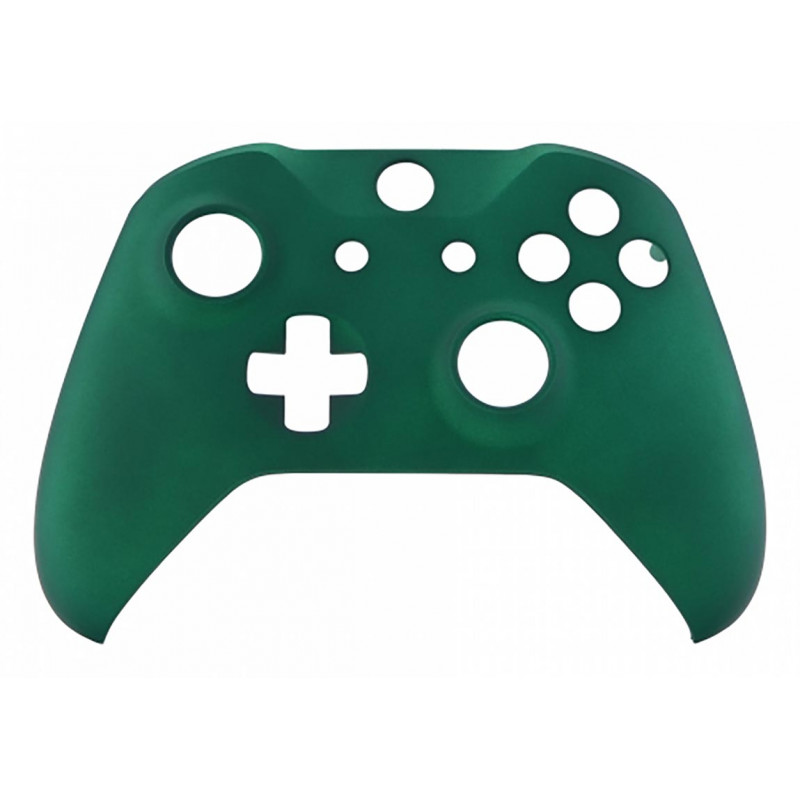 XBOX ONE S Controller Front FacePlate Soft Touch Racing Green