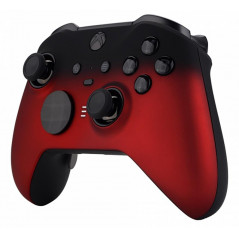 XBOX Elite V2 Controller Front Faceplate Soft Touch Shadow Vampire Red