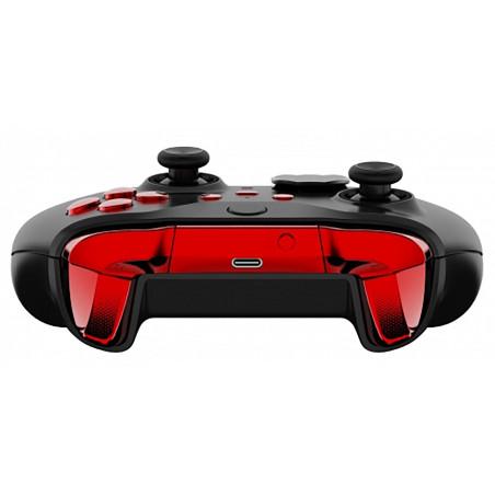 Xbox Elite V2 Controller Full Button Glossy Chrome Red