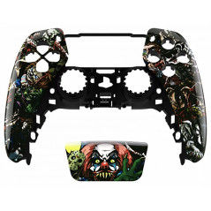 PS5 Dualsense Controller Front Shell With Touchpad Glossy Horror