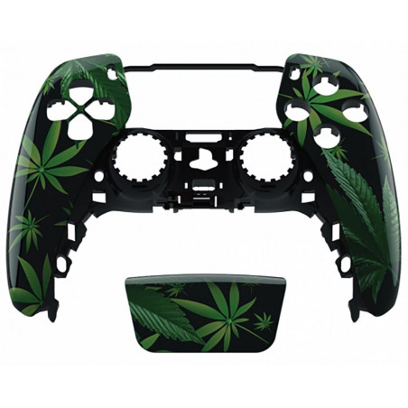 PS5 Dualsense Controller Front Shell With Touchpad Gloss Herb