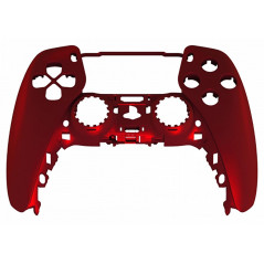 PS5 Dualsense Controller Front Shell With Touchpad Soft Touch Vampire Red