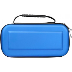 NS Switch Hard Carrying Case Pouch with Handle Blue