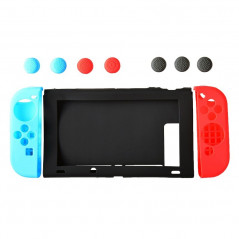 NINTENDO SWITCH SILICONE FULL PROTECT CASE SET WITH THUMB STICKS