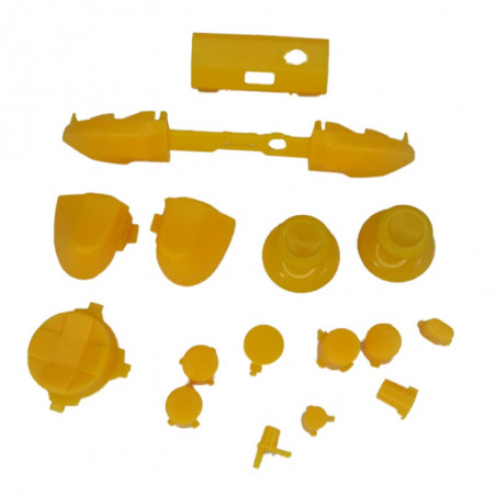 XBOX SERIES S/X Controller Full Button Set Solid Yellow