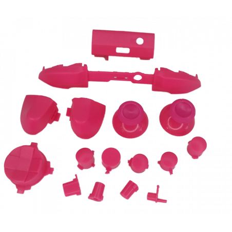 XBOX SERIES S/X Controller Full Button Set Solid Pink