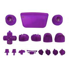 PS5 Dualsense Controller Full Button Clear Purple
