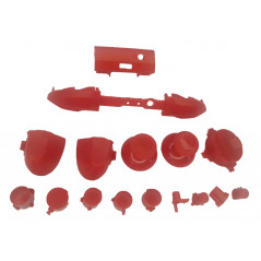 XBOX SERIES S/X Controller Full Button Set Solid RED