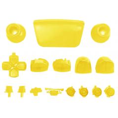 PS5 Dualsense Controller Full Button Clear Yellow