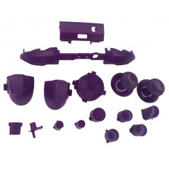 XBOX SERIES S/X Controller Full Button Set Solid Purple