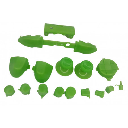 XBOX SERIES S/X Controller Full Button Set Solid Green