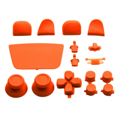 PS5 Dualsense Controller Full Button Solid Orange