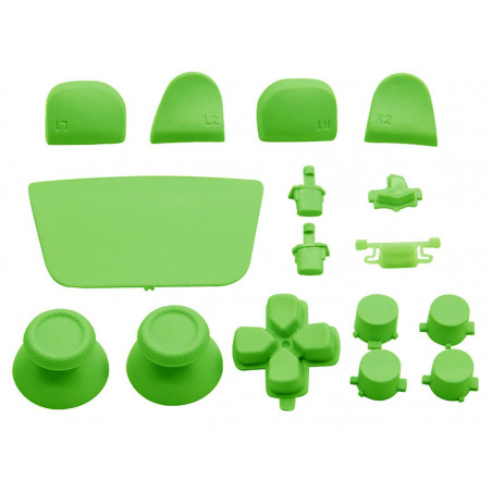 PS5 Dualsense Controller Full Button Solid Green