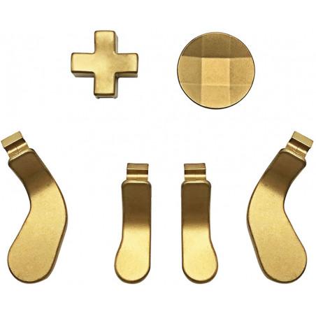 XBOX Elite Series 1/ Series 2 Controller Paddle Set Gold