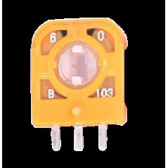 PS4 Controller Joystick 3D Steuer module 3Pin Sensor Orange