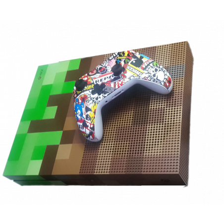 Xbox One S Slim Limited Edition Minecraft 1TB Console PreOwned