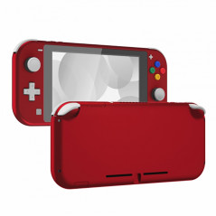 NS Switch Lite Complete Shell Kit Soft Touch Vampire Red