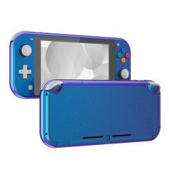 NS Switch Lite Complete Shell Kit Glossy Chameleon Blue Purple