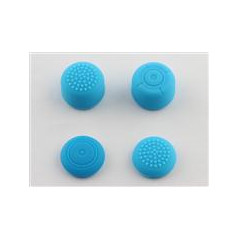 NS Switch Joy-Con Controller 4-in-1 Silicone Thumbsticks BLUE