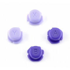 Ns Switch Lite Soft Touch ABXY Button Kit Soft Touch Deep Purple