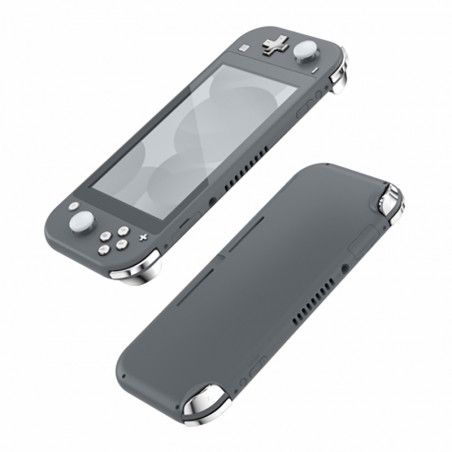 NS Switch Lite 14 Piece Button Kit Glossy Chrome Silver
