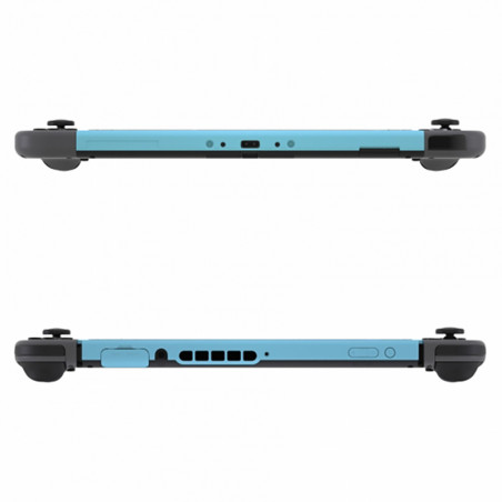NS Switch Lite Front Frame Soft Touch Heaven Blue